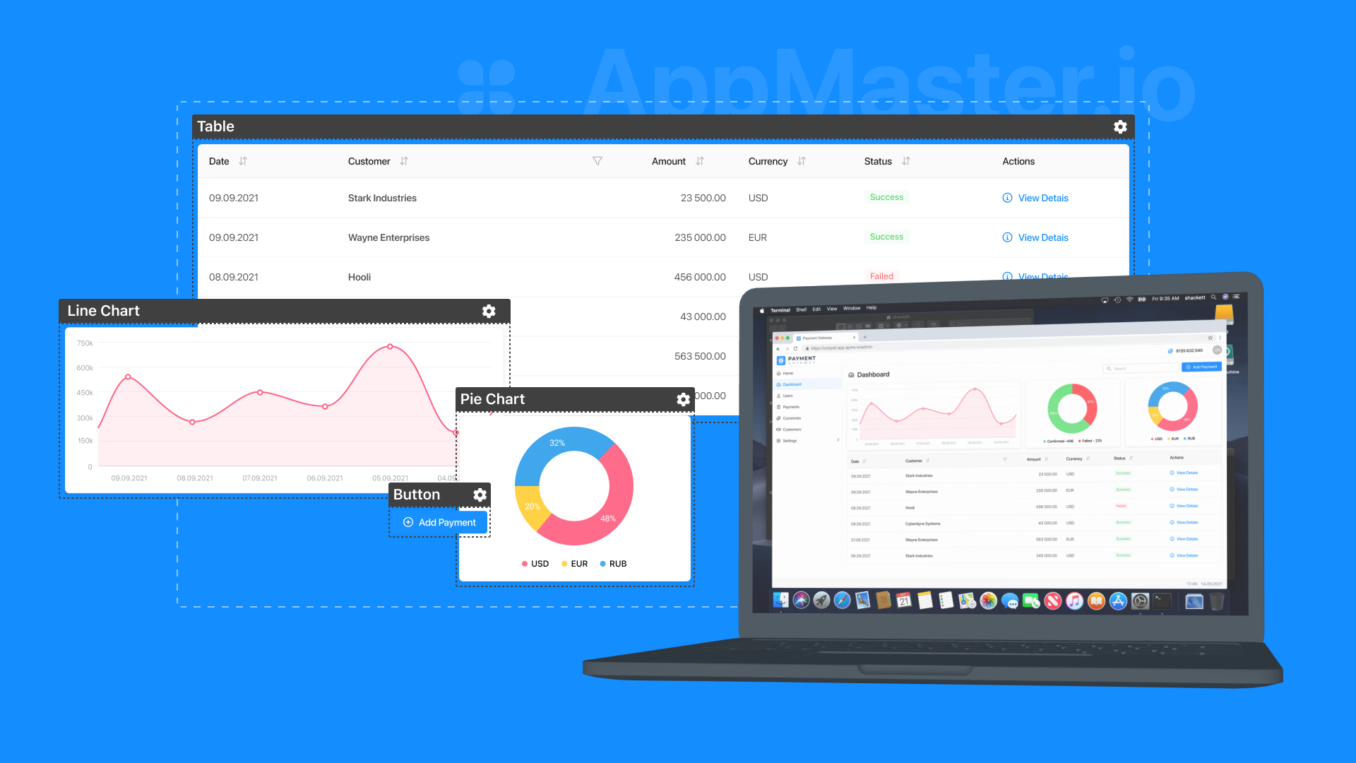 How AppMaster.io Builds Apps